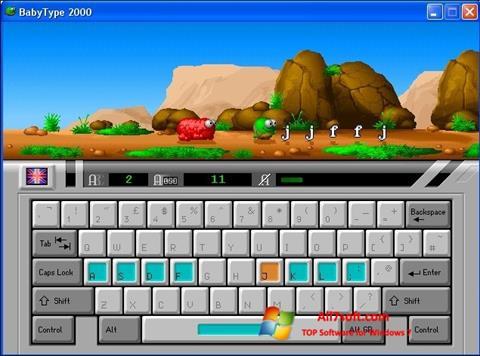 Skærmbillede BabyType Windows 7