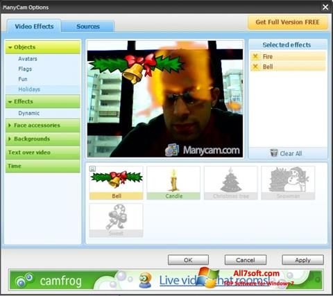 Skærmbillede ManyCam Windows 7