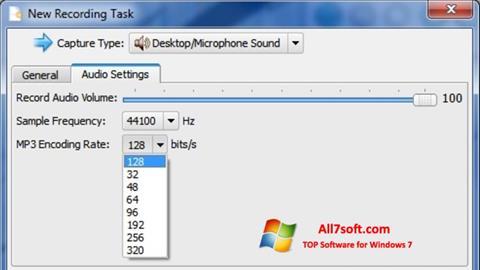 Skærmbillede SMRecorder Windows 7