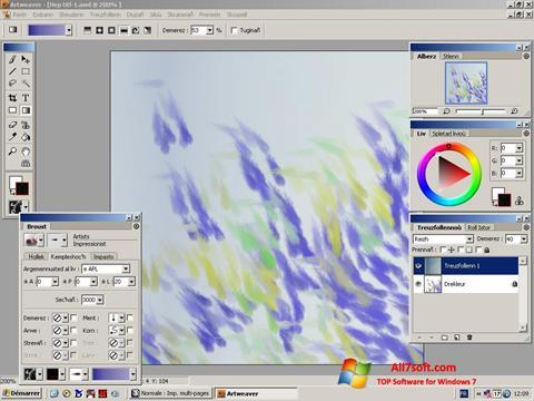 Skærmbillede Artweaver Windows 7