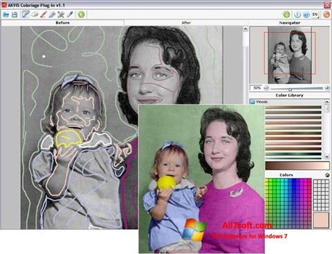 Skærmbillede AKVIS Coloriage Windows 7