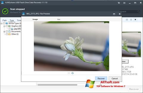 Skærmbillede USB Flash Drive Recovery Windows 7