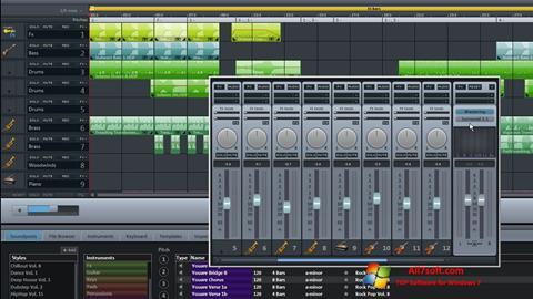 Skærmbillede MAGIX Music Maker Windows 7