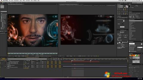 Skærmbillede Adobe After Effects Windows 7