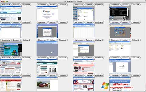 Skærmbillede VNC Viewer Windows 7