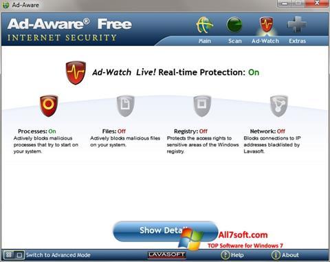 Skærmbillede Ad-Aware Windows 7