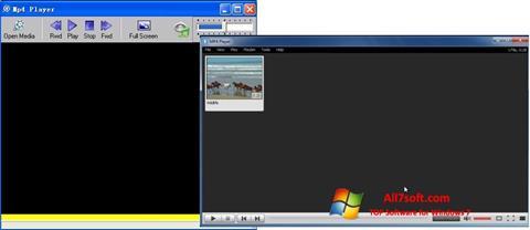 Skærmbillede MP4 Player Windows 7