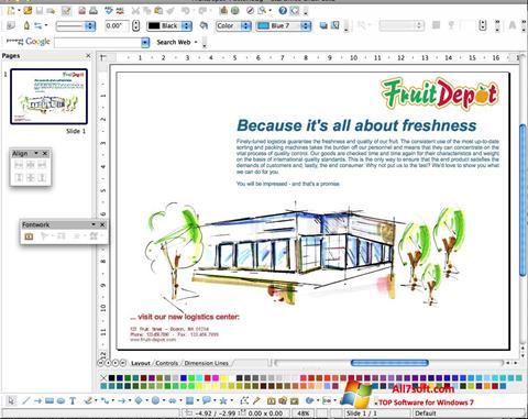Skærmbillede Apache OpenOffice Windows 7