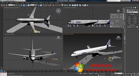 Skærmbillede 3ds Max Windows 7