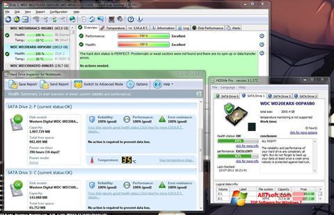 Skærmbillede HDD Health Windows 7