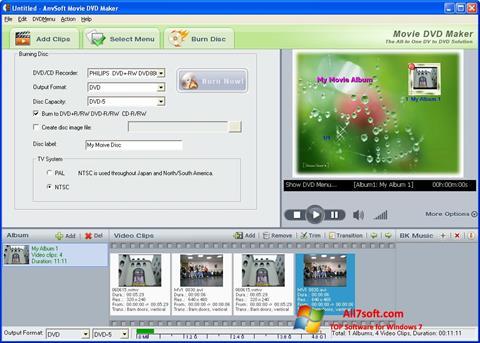 Skærmbillede DVD Maker Windows 7