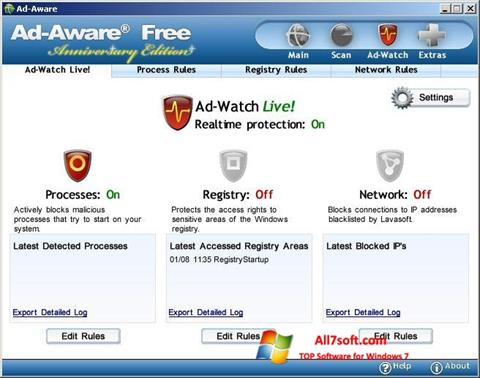Skærmbillede Ad-Aware Free Windows 7