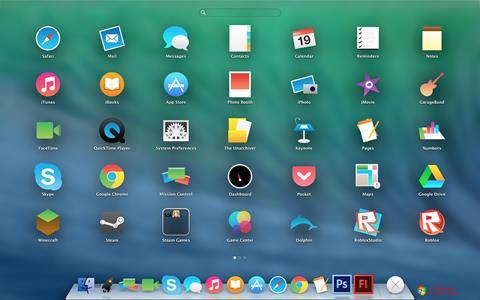 Skærmbillede OS X Flat IconPack Installer Windows 7