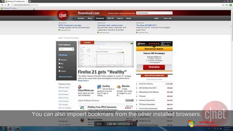 Skærmbillede Comodo Dragon Windows 7