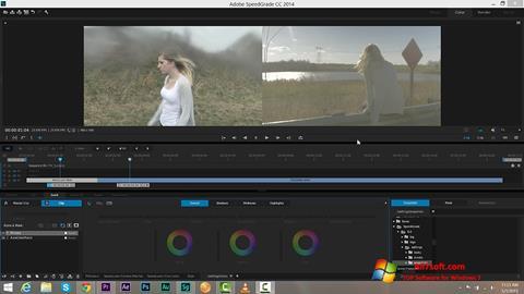 Skærmbillede Adobe SpeedGrade Windows 7