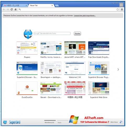 Skærmbillede Superbird Windows 7
