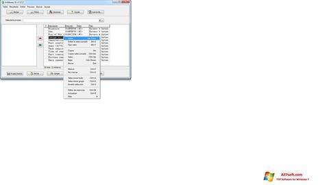 Skærmbillede ArtMoney Pro Windows 7