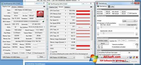 Skærmbillede ATI Tray Tools Windows 7