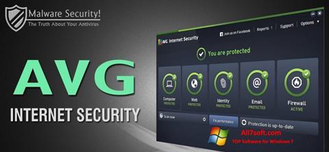 Skærmbillede AVG Internet Security Windows 7