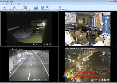 Skærmbillede IP Camera Viewer Windows 7