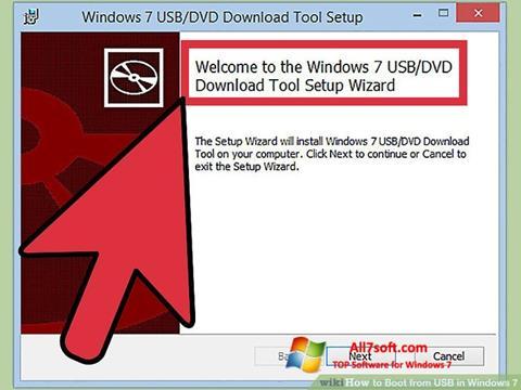 Skærmbillede Windows 7 USB DVD Download Tool Windows 7