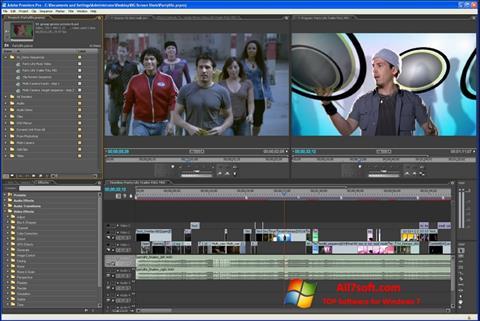 Skærmbillede Adobe Premiere Pro Windows 7