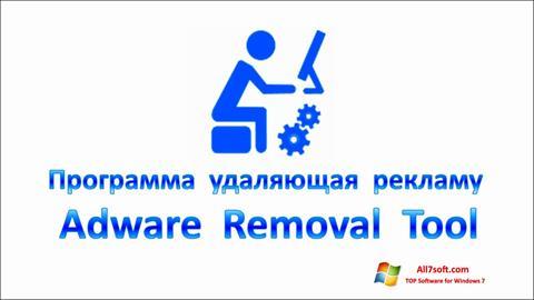 Skærmbillede Adware Removal Tool Windows 7