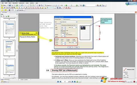 Skærmbillede PDF-XChange Viewer Windows 7