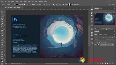 Skærmbillede Adobe Photoshop Windows 7