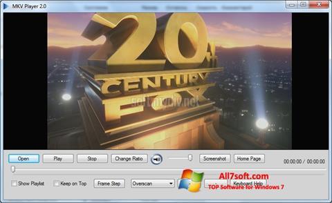 Skærmbillede MKV Player Windows 7