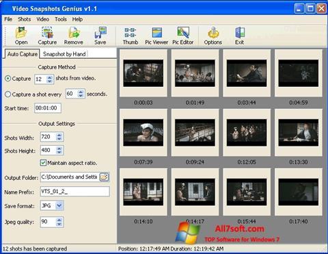 Skærmbillede SnapShot Windows 7