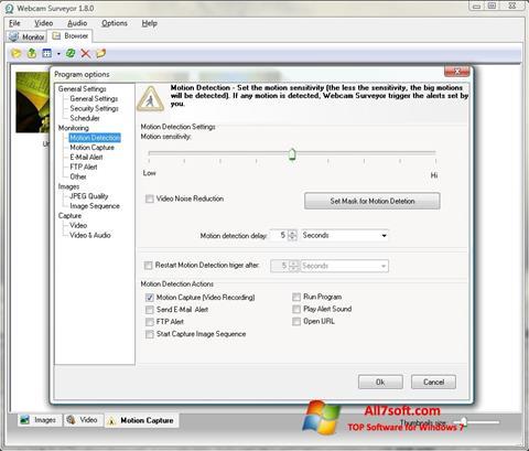 Skærmbillede Webcam Surveyor Windows 7