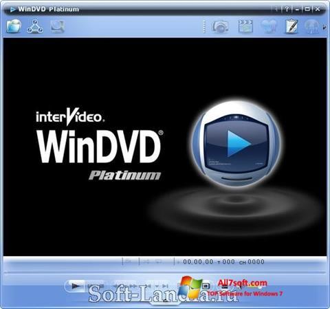 Skærmbillede WinDVD Windows 7