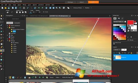 Skærmbillede PaintShop Pro Windows 7