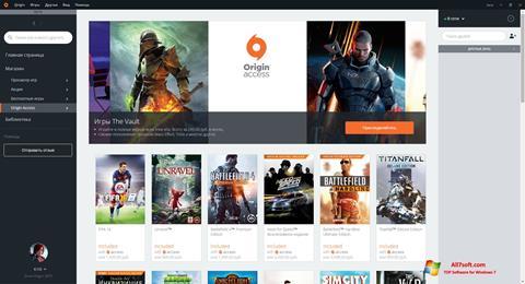 Skærmbillede Origin Windows 7