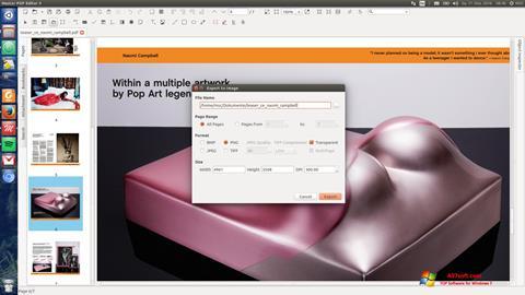 Skærmbillede Master PDF Editor Windows 7