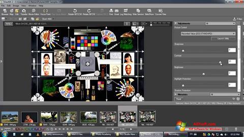 Skærmbillede ViewNX Windows 7