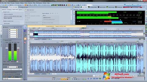 Skærmbillede WaveLab Windows 7
