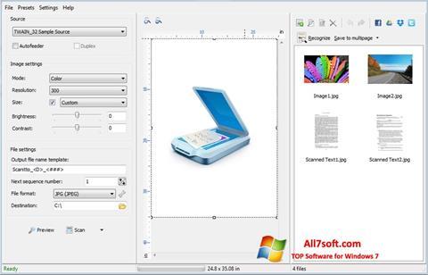 Skærmbillede WinScan2PDF Windows 7