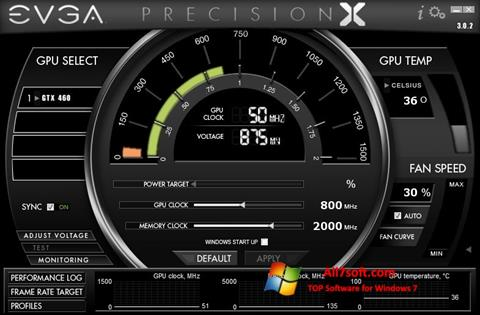 Skærmbillede EVGA Precision X Windows 7
