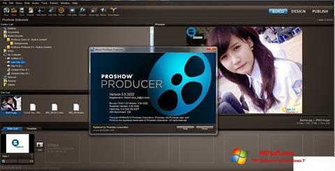 Skærmbillede ProShow Producer Windows 7