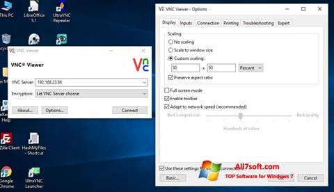 Skærmbillede VNC Windows 7