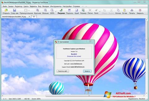 Skærmbillede FastStone Capture Windows 7