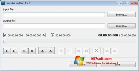 Skærmbillede Free Audio Dub Windows 7