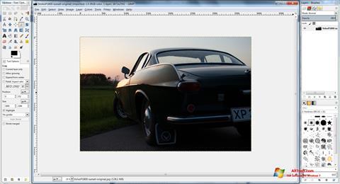 Skærmbillede GIMP Windows 7