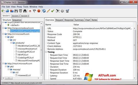 Skærmbillede Charles Windows 7