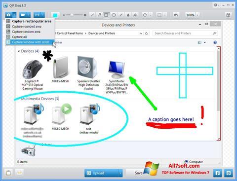 Skærmbillede QIP Windows 7