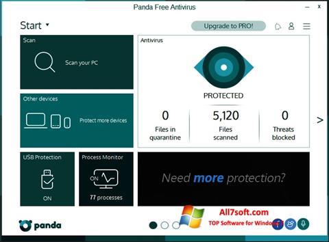 Skærmbillede Panda Windows 7