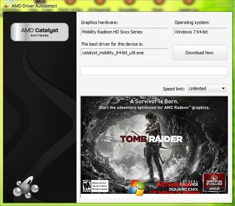 Skærmbillede AMD Driver Autodetect Windows 7