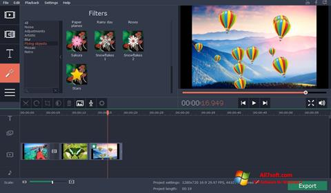 Skærmbillede Movavi Video Suite Windows 7